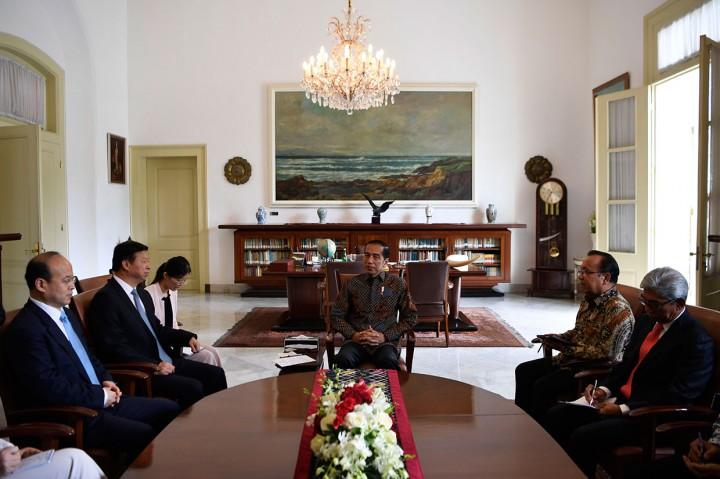 Jokowi Terima Penasihat Hubungan Luar Negeri Xi Jinping