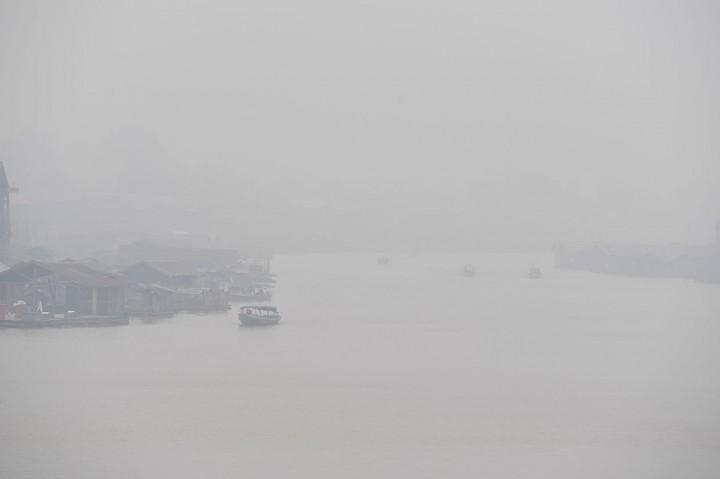 Banjarmasin Kembali Terpapar Kabut Asap