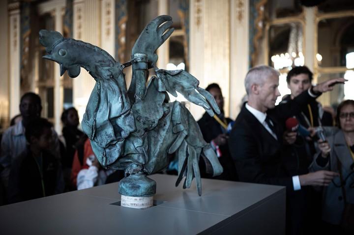 Ayam Jantan Tembaga dari Menara Notre-Dame akan Dipamerkan