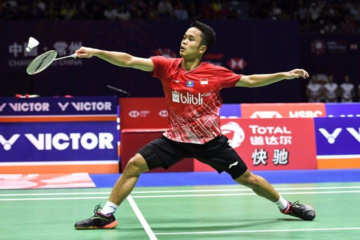 Ginting Dikalahkan Momota di Final China Open