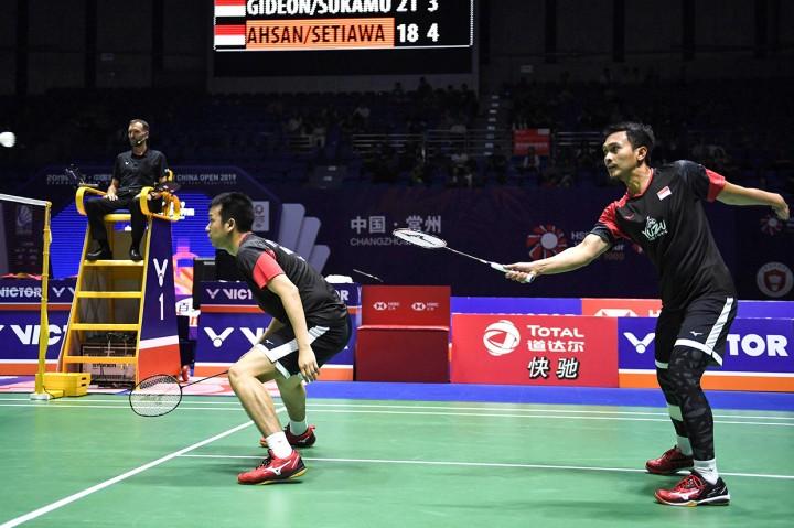 Kevin/Marcus Juara China Open 2019