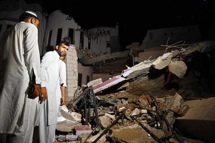 Gempa Guncang Pakistan, 19 Orang Tewas