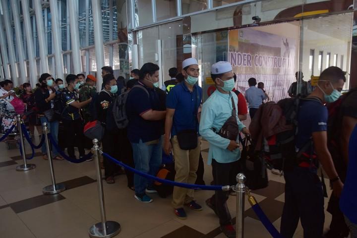 Akibat Asap, 46 Mahasiswa Malaysia Dievakuasi dari Riau