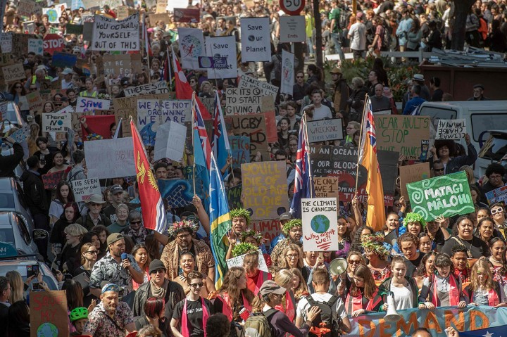 Puluhan Ribu Pelajar Selandia Baru Protes Perubahan Iklim