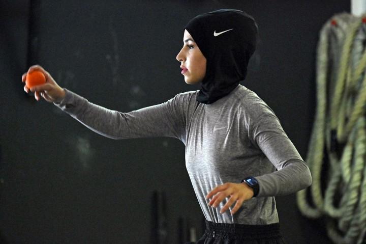 Mimpi Petinju Jerman Berhijab Ini Tampil di Olimpiade