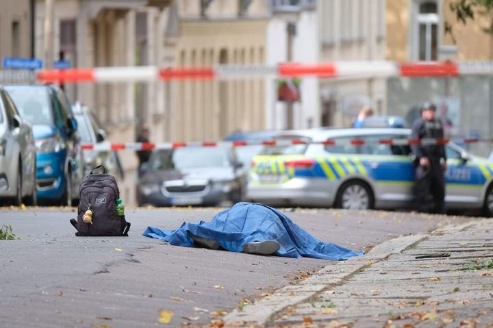 Penembakan di Depan Sinagog Jerman Tewaskan Dua Orang