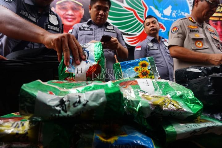 Polisi Ungkap 337 Kasus Narkoba dalam Operasi Nila Jaya