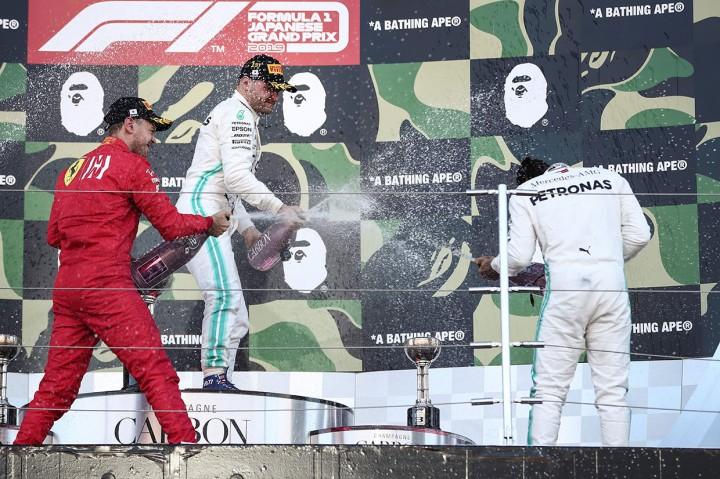 Valtteri Bottas Juara GP Jepang