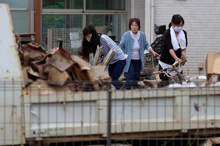 Korban Tewas Topan Hagibis di Jepang Jadi 35 Orang