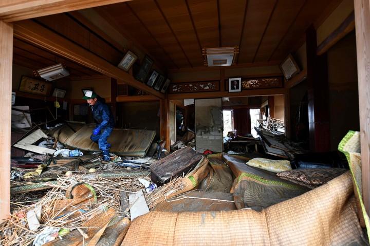 Kerusakan Akibat Topan Hagibis di Jepang