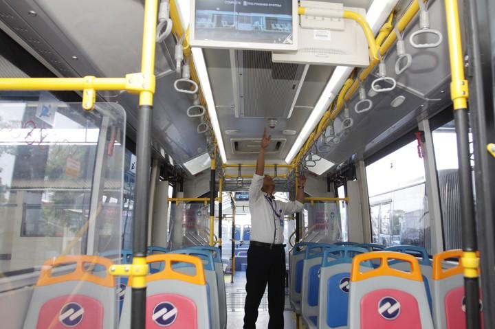 Bus Zhongtong Kembali Mengaspal di Jakarta