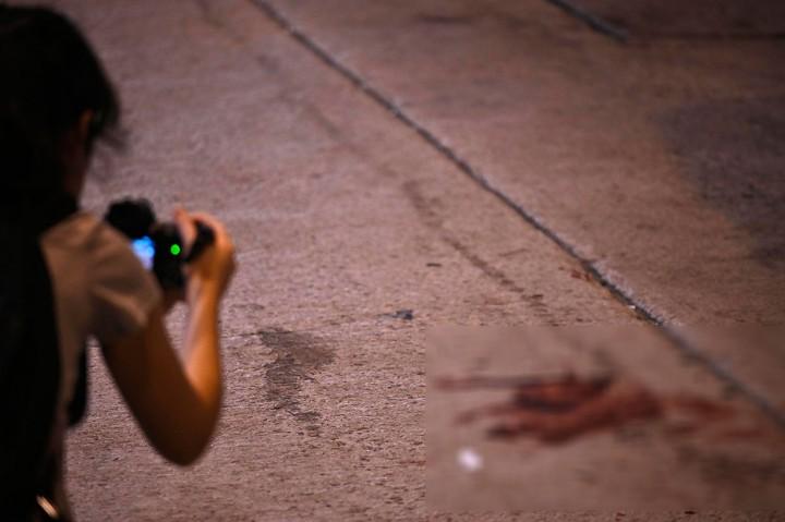Pemimpin Protes Hong Kong Dipukul Palu Orang tak Dikenal