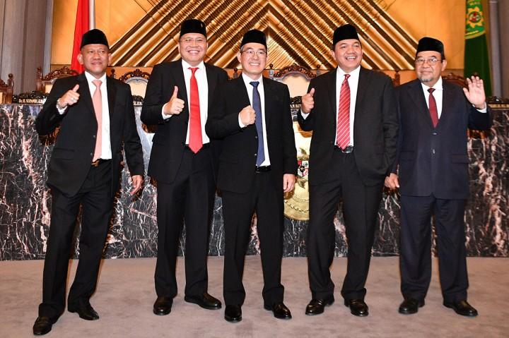 5 Anggota BPK Periode 2019-2024 Resmi Dilantik