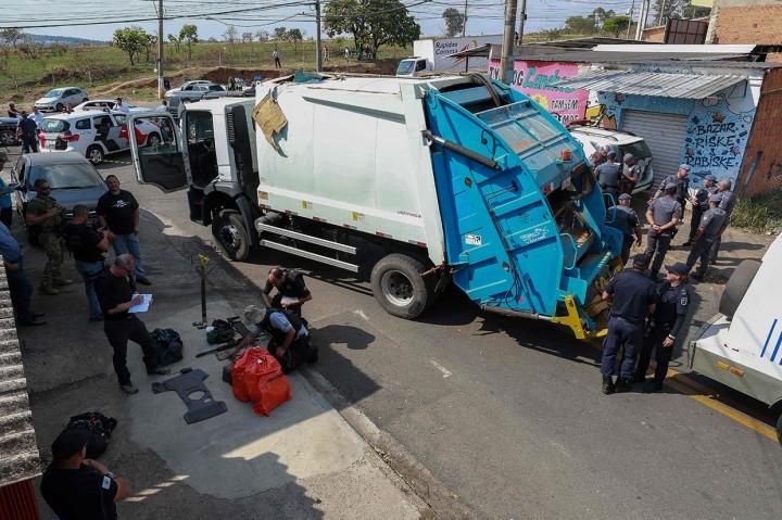 Beraksi di Bandara Brasil, 3 Perampok Bersenjata Tewas Ditembak