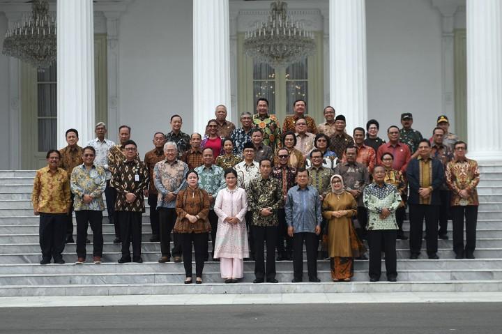 Momen Silaturahmi dan Perpisahan Kabinet Kerja
