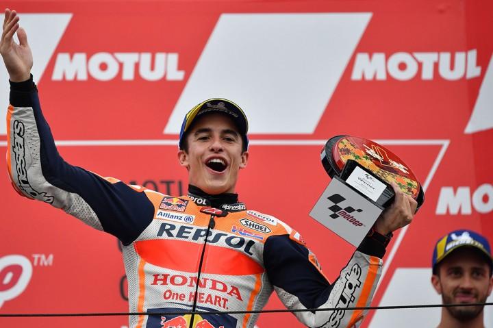 Marc Marquez Juara MotoGP Jepang