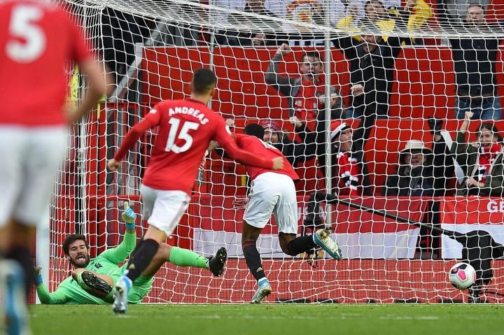MU Tahan Imbang Liverpool di Old Trafford