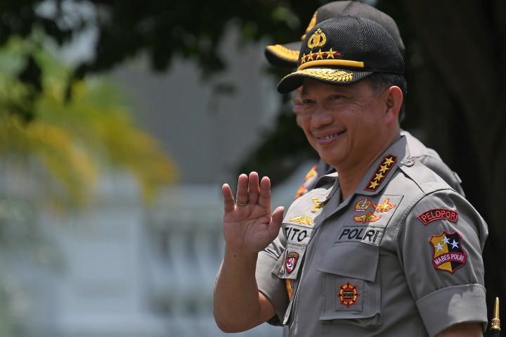 Giliran Kapolri Tito Karnavian Merapat ke Istana