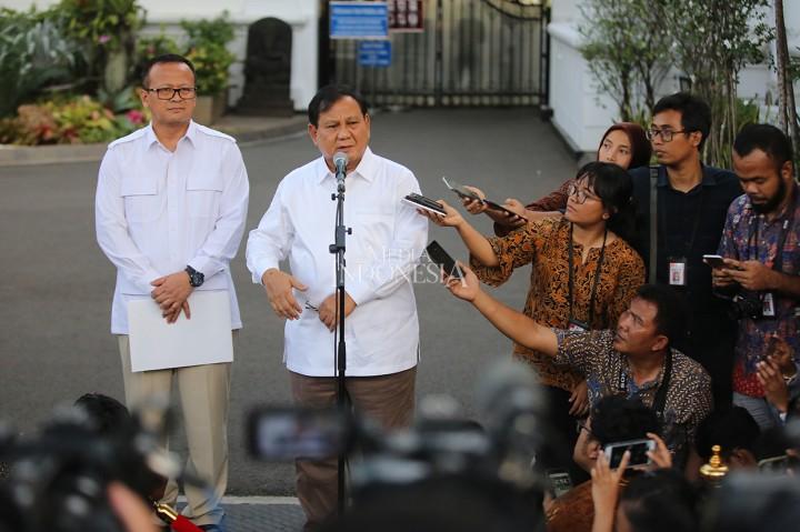 Prabowo Diminta Bantu Jokowi di Bidang Pertahanan