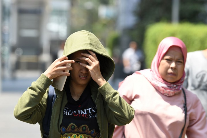Suhu Panas Landa Indonesia Hingga Sepekan ke Depan