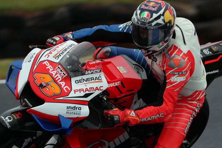 Quartararo Kecelakaan di Latihan Pertama GP Australia