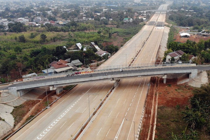 Ruas Tol Serpong-Kunciran Beroperasi Akhir 2019