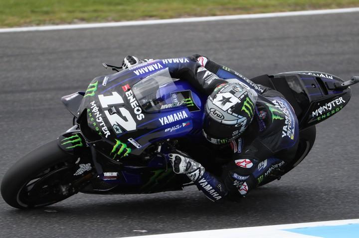 Vinales Rebut Pole MotoGP Australia