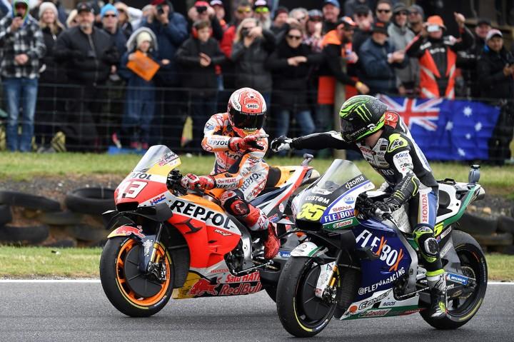 Vinales Jatuh, Marquez Juara MotoGP Australia