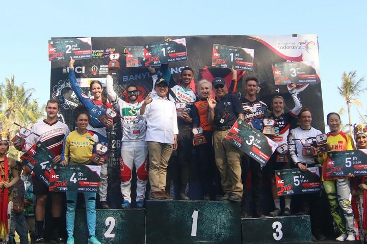 Caroline Buchanan & Quillan Isidore Juarai Banyuwangi BMX
