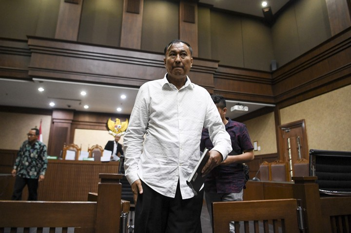 Markus Nari Dituntut 9 Tahun Penjara