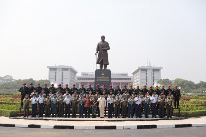 Prabowo Janji Perkuat Alutsista TNI