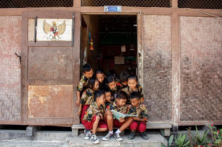 Melihat Kondisi Sekolah Peninggalan Belanda di Karawang