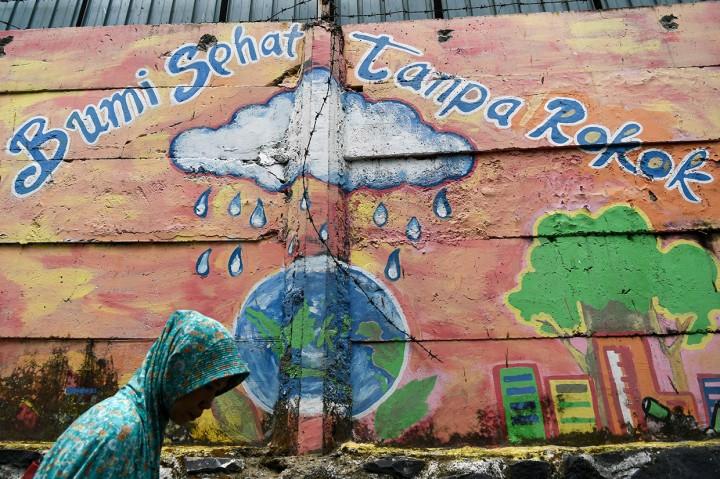 Penas Tanggul, Kampung Tanpa Rokok di Ibu Kota