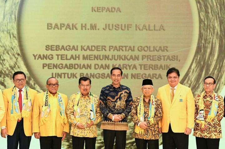 Jokowi: Golkar Sudah Jadi Tulang Punggung Kekuatan Pemerintah