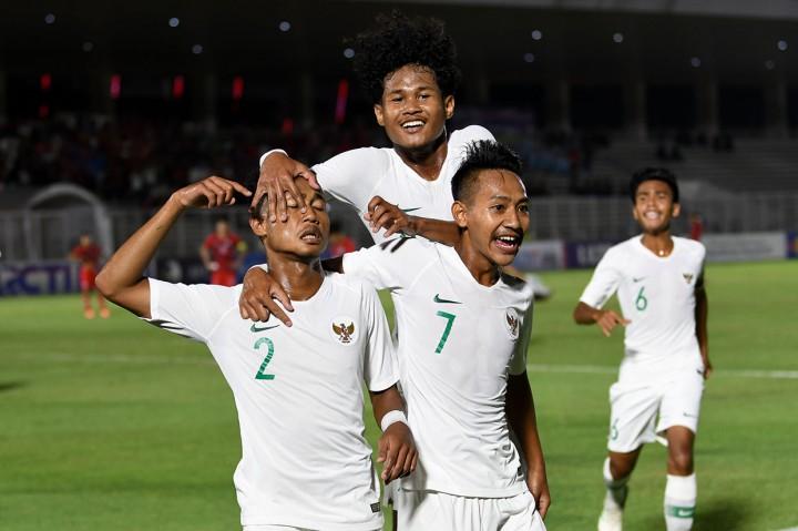 Timnas Indonesia U-19 Gilas Hong Kong 4-0