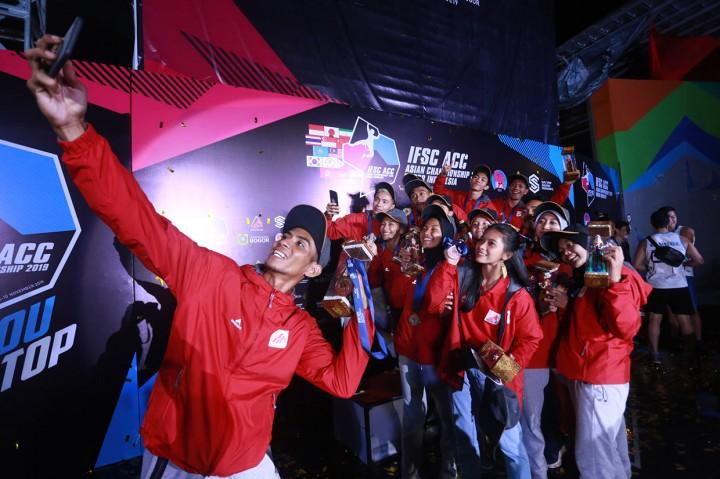 Indonesia Raih Lima Emas di Asian Championship 2019