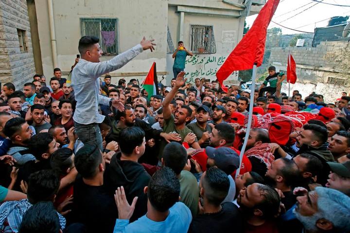 Pemuda Palestina Ditembak Mati Pasukan Israel