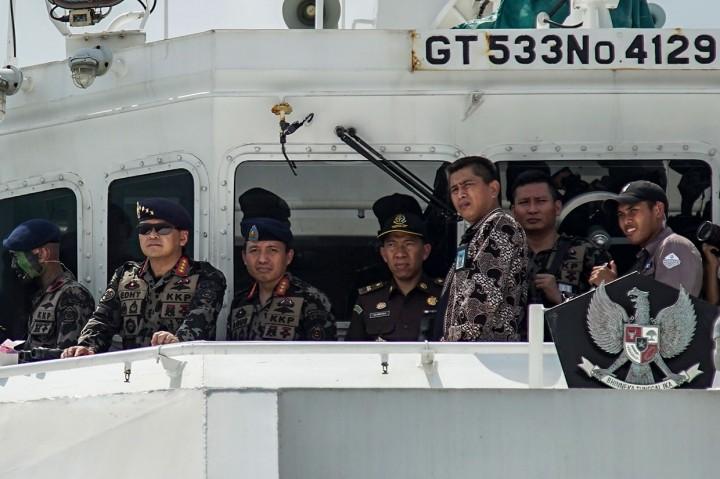 Edhy Prabowo Pimpin Apel Pengawasan Sumber Daya Kelautan