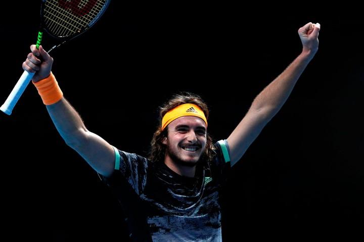 Tsitsipas Melaju ke Semifinal ATP Finals