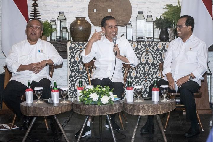 Jokowi Tetap Fokus Bangun Infrastruktur
