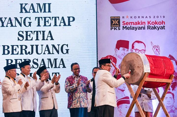 Gelar Rakornas, PKS Tegaskan Sikap Oposisi