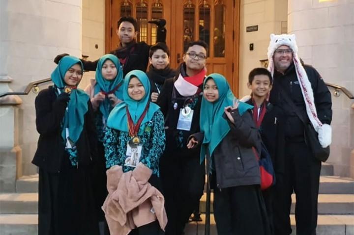 Siswa MTsN 1 Malang Raih 21 Medali di Tournament of Champion AS