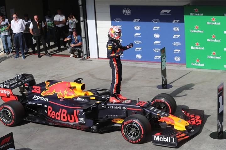 Verstappen Rebut Pole Position F1 GP Brasil