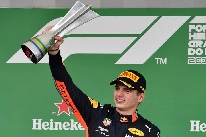 Max Verstappen Juara F1 GP Brasil