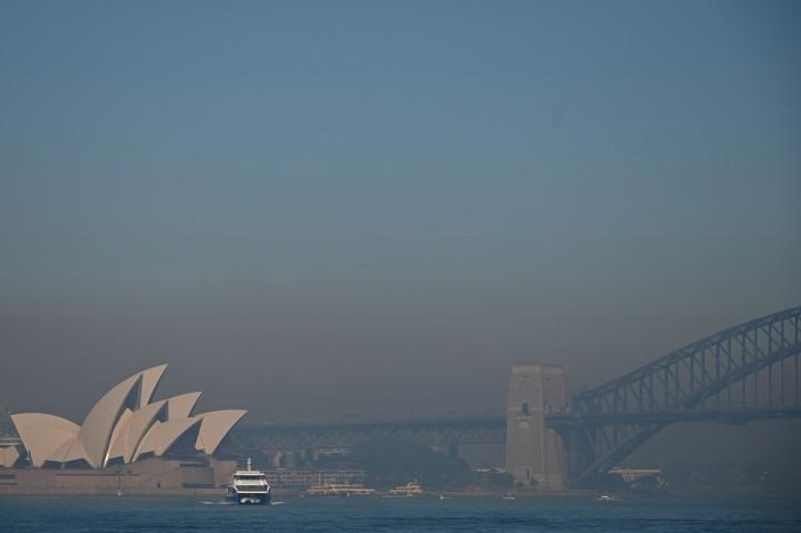Sydney Diselimuti Kabut Asap
