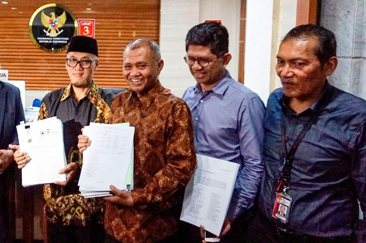 Tiga Pimpinan KPK Ajukan Judicial Review ke MK