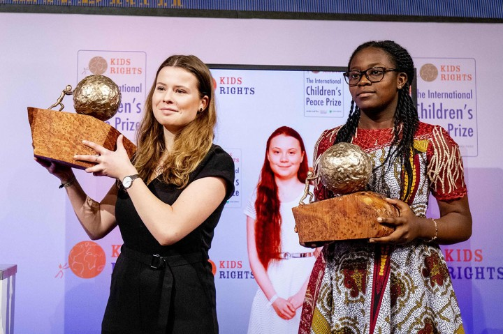 Greta Thunberg Terima Hadiah Perdamaian Anak Internasional 2019