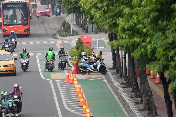 Pergub Jalur Sepeda di DKI Jakarta Mulai Berlaku