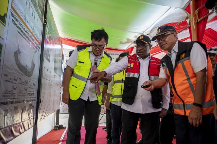 Kementerian PUPR Mulai Pembangunan Tanggul Laut di Palu