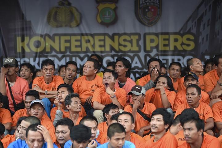 Polisi Tangkap 3.314 Pelaku Kejahatan dalam Operasi Sikat Jaya